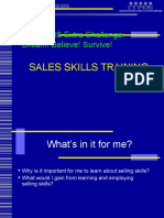 Sales Skills Training