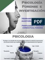 Perfilación y Analisis Conductual Forense Salvador Dic. 2015.Alumnos