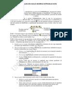 Analisis Linelaes en Sw Introducción