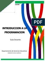 Introduccio¦ün a la programacion