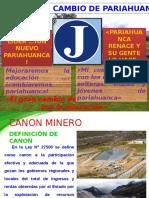 Canon Minero Jaime
