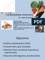 Carbohydrate Chemistry -By Dr. Naila for Nursing 2 Year