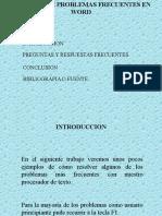 Método de Resolución de Problemas de Procesadores de Texto