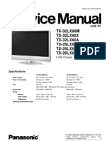 TX-32LX60A Panasonic TV Service Manual