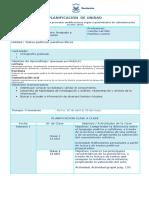 Planificación de 7° básico,  Mayo 2015