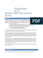 Windows Managment Framework 5.0 Preview April 2015 Release Notes