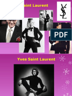 Yves Saint Laurent- PROVA ORAL