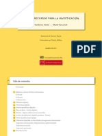 Guía de recursos para la investigación