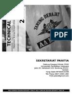 Technical Book (1) of Tarung Derajat