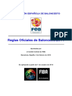 Reglas de Juego FIBA 2014
