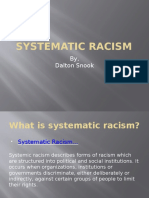 systematic racism  2   1