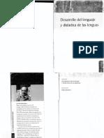 BRONCKART Desarrollo Del Lenguaje
