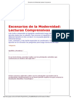 Escenarios de La Modernidad_ Lecturas Comprensivas