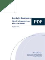 Equity in Development