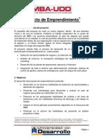 Plan de emprendimiento