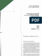 Fuga de Divisas en La Argentina - Comisión Investigadora de La Cámara de Senadores - 2001 - 2004