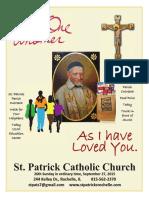 Religion B St Patrick