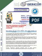 Geincor-esp. Tecnicas de Estacion Total Es-105