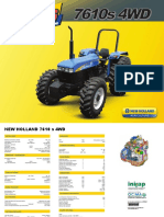 New Holland 7610s 4wd