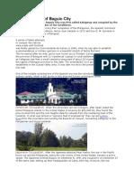 A Brief History of Baguio City