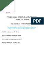 automatas secuenciales finitos
