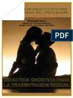 Didactica Gnostica Para Trasmutacion Sexual