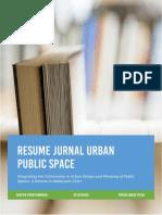 Resume Jurnal Perencanaan Tapak