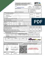 FORMULARIO DE AUTORIZACION PARA LA CIRCULACIÓN DE VEHÍCULOS ESPECIALES Y/O EL TRANSPORTE DE MERCANCIAS ESPECIALES