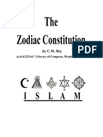 Zodiac Constitution by CM Bey