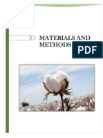 Materials and Methods in biotechnology