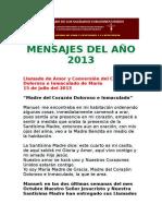 Mensajes Del Año 2013
