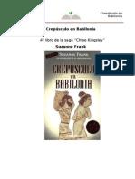 Frank Suzanne - Crepusculo en Babilonia