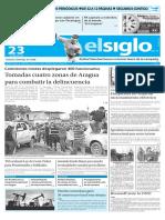 Edición Impresa El Siglo 23-04-2016