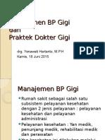 Manajemen BP Gigi SMF.ppt