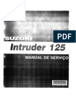 Manual Serviços-InTRUDER 125