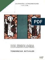 Eclesiologia. Tendencias Actuales - Celam, 1990