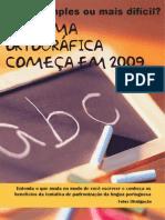 Página/Revista - Reforma Ortográfica