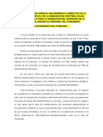 Planteamiento Del Porblema de Plan de Acción Sobre El Mantenimento Correctivo de La Azotea Del Edificio 4 de La Urbanzación Cristóbal Rojas