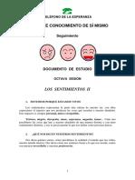 Doc. Estudio 8ª Sesión - Conocimiento de Sí Mismo