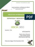 Estrategia y Mercadotecnia Global Xbox