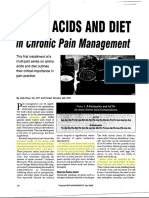 Pain Mgmt With Amino Acids