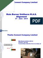 TCCL 27.06.2015 Burner Unitherm Alignment
