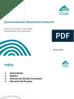 Aprovechamiento Hidroelectrico Antamina (Regulatorio)