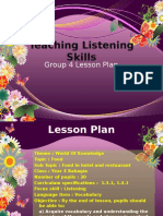 Teaching Listening Skills Group 4