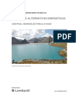 20105.0-R-003 - Informe Técnico Central Hidroeléctrica Ayash