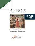 Modulo 1- Lingua Letteraria Dalle Origini All'Ottocento