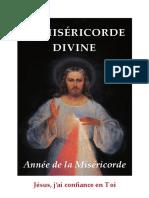 Quelques Extraits Livret Annee de La Misericorde Divine