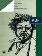 G K Chesterton William Blake y Otros Temperamentos