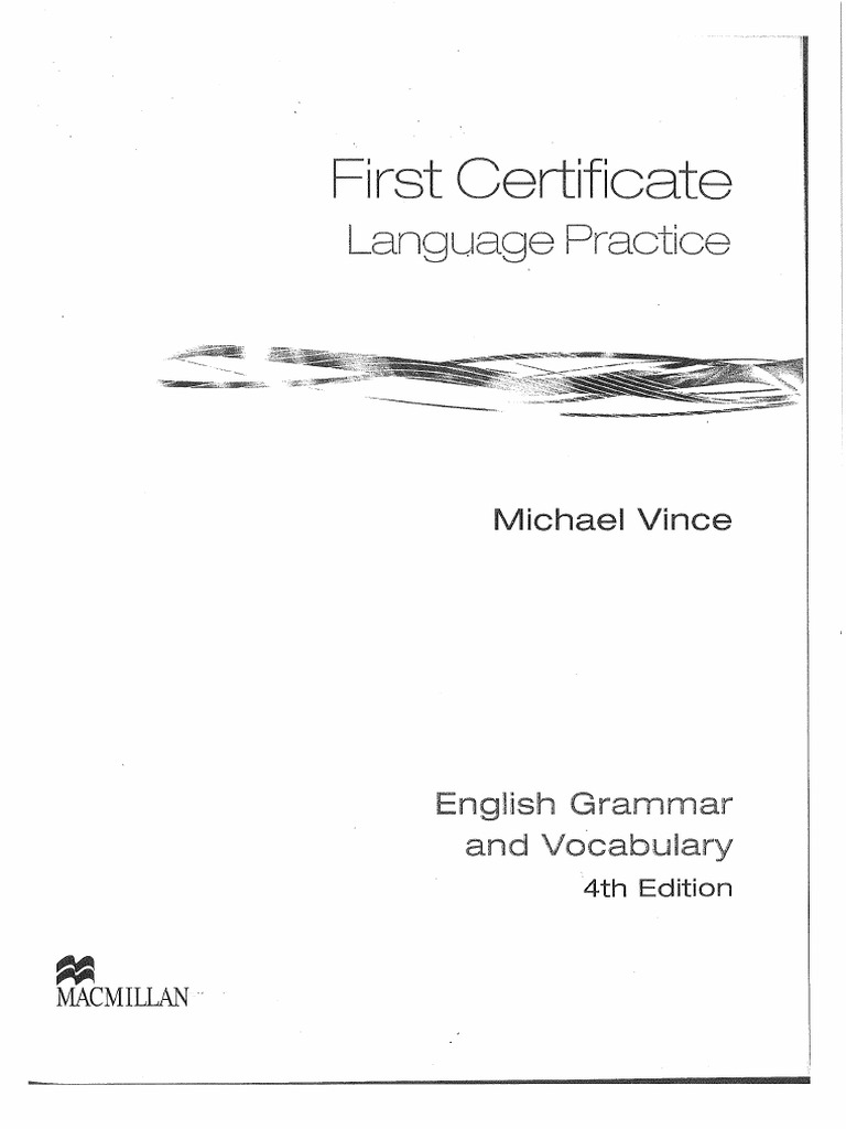 First Certificate Language Practice