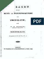 Bijdragen tot de munt- en penningkunde van Friesland. Eerste vervolg